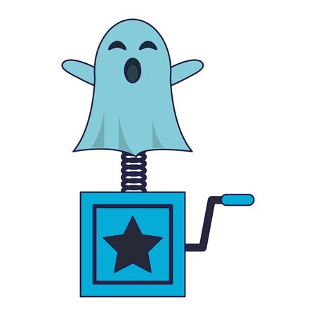 Joke surprise box with ghost Designe
