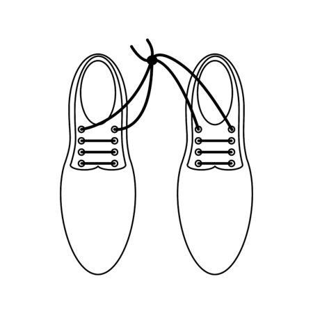 Elegan male shoes topview Designe