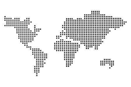 world map cartoon vector illustration graphic design