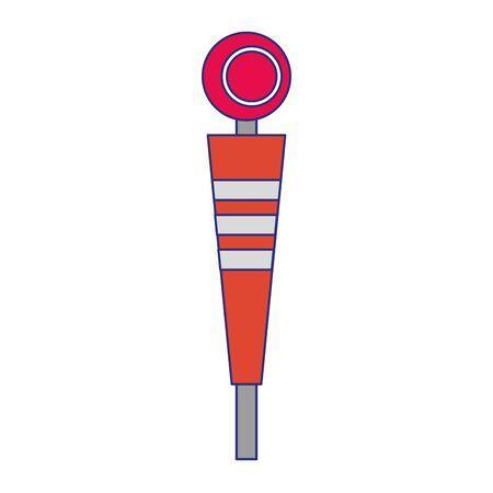 american football sport game sideline cartoon vector illustration graphic design Illustration
