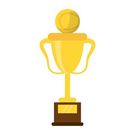 Basketball trophy cup championship cartoon