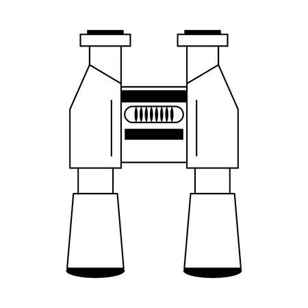Binoculars spy vision symbol isolated vector illustration graphic design