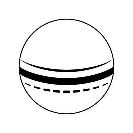 beach ball icon over white background, vector illustration