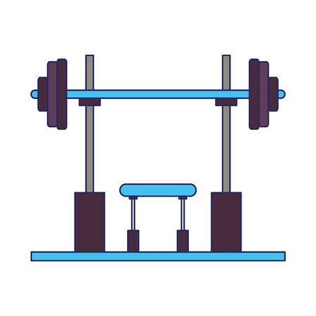 black weights for arm training and isolated symbols vector illustration graphic design