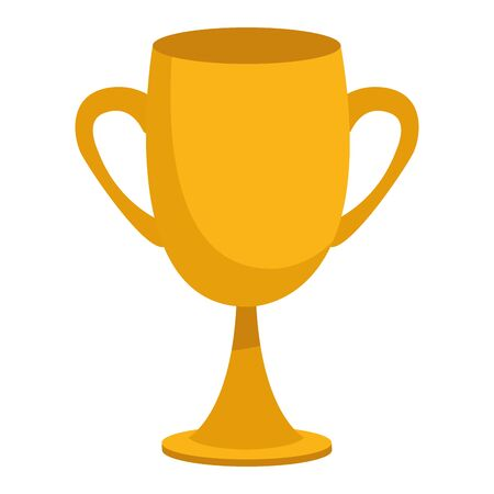 Trophy cup symbol isometric isolated ,vector illustration graphic design.