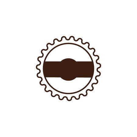 oktoberfest seal celebration isolated icon vector illustration design