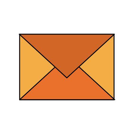 email envelope card sign cartoon vector illustration graphic design 스톡 콘텐츠 - 131402100
