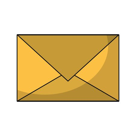 Email envelope letter symbol isolated vector illustration graphic design Ilustrace