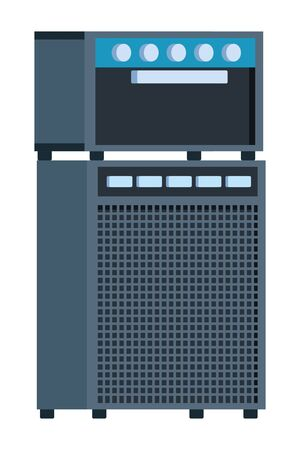 amplifier equipment icon cartoon vector illustration graphic design