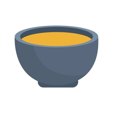 tea cup icon over white background, colorful design. vector illustration