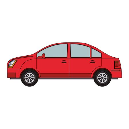 sedan car icon over white background, vector illustration Banque d'images - 133242109