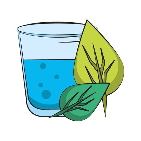 healthy diet nutrition drinking lifestyle, vegan and organic drink objects cartoon vector illustration graphic design