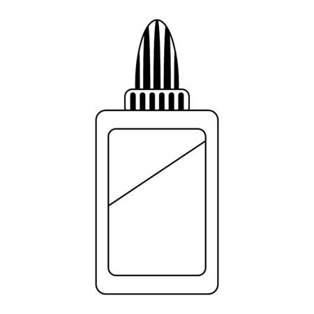 Glue bottle school utensil symbol Designe