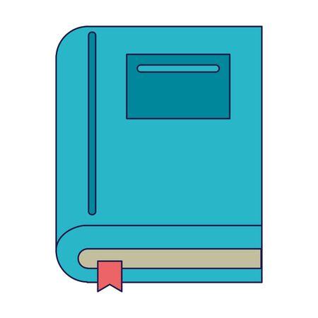 Book education symbol isolated Designe Ilustrace