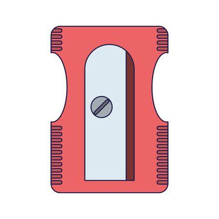 pencil sharpener utensil symbol Designe
