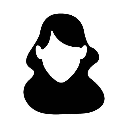 avatar woman face icon over white background, vector illustration Foto de archivo - 133907441