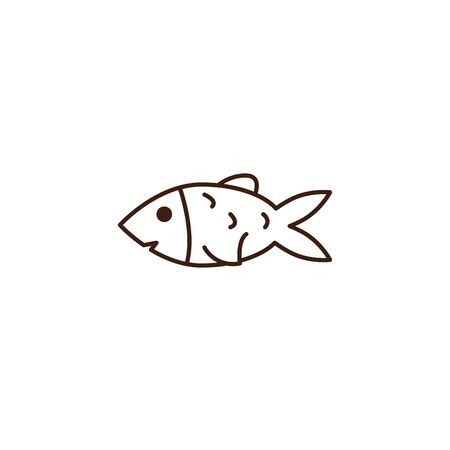 fish isolated icon vector illustration design Reklamní fotografie - 133906725