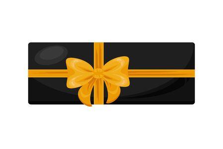 giftbox present with bow icon vector illustration design Foto de archivo - 133702017