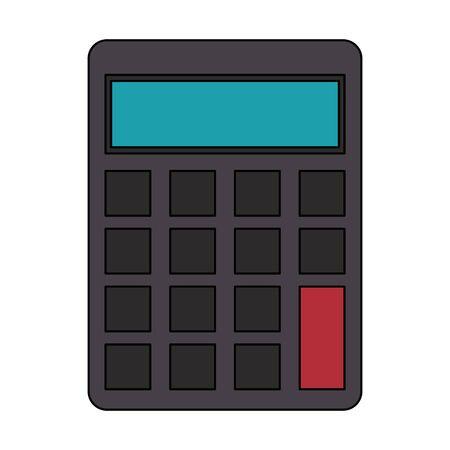 saving money finance banking calculator cartoon vector illustration graphic design