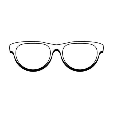 Fashion sunglasses accesory isolated cartoon vector illustration graphic design 일러스트