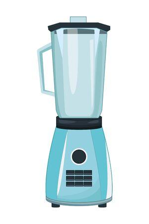 Blender kitchen appliance cartoon vector illustration graphic design