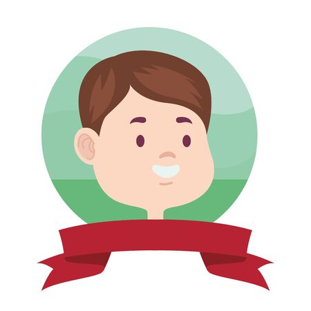 young man avatar character icon vector illustration design Archivio Fotografico - 133780654