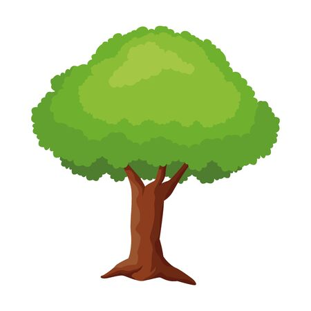 Tree nature cartoon isolated ,vector illustration .graphic design. Banque d'images - 133837167