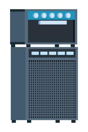 amplifier equipment icon cartoon vector illustration graphic design