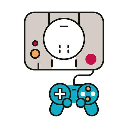 video game console device icon vector illustration design Stock Vector - 133856230