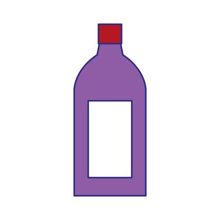 drink bottle icon over white background, colorful design. vector illustration Иллюстрация