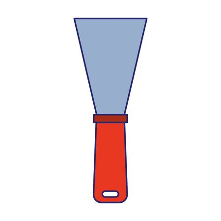 spatula tool icon over white background, vector illustration Imagens - 134051754