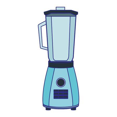 blender icon over white background, vector illustration