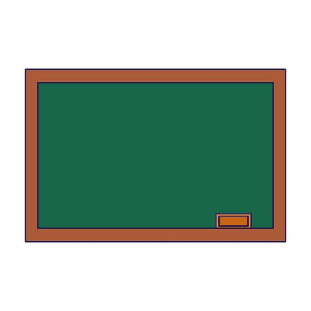 school chalkboard icon over white background, vector illustration Ilustrace