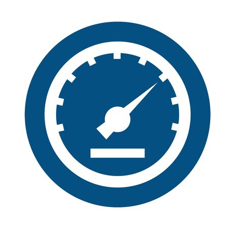 car speed gauge assembly piece flat vector illustration design Reklamní fotografie - 134407990