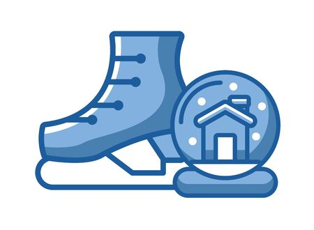 snow skate sport isolated icon vector illustration design