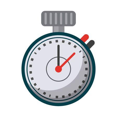 Sport timer chronometer symbol vector illustration graphic design