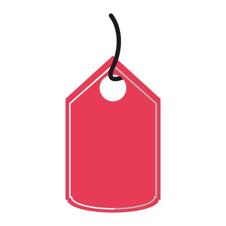 Shopping label tag isolated symbol vector illustration graphic design