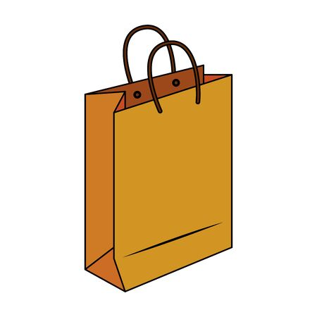 shopping retail sale store, shopping bag isolated cartoon vector illustration graphic design Zdjęcie Seryjne - 134557889
