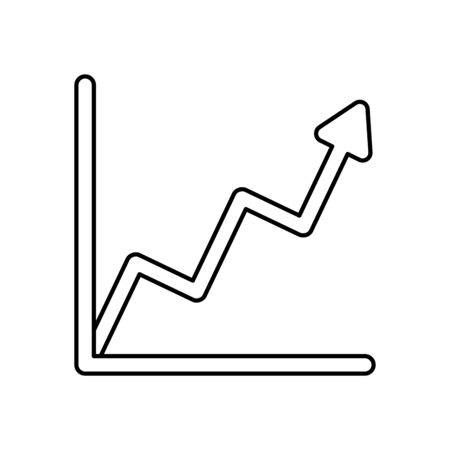 financial statistics graphic isolated icon vector illustration design