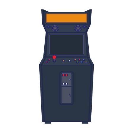 Retro arcade videogame classic console vector illustration graphic design Stock Vector - 134744148