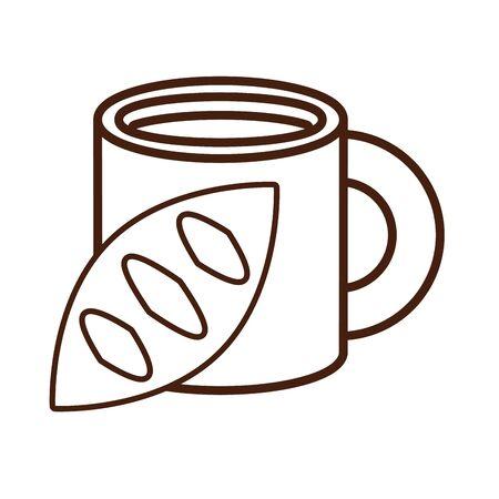delicious bread food bakery icon vector illustration design