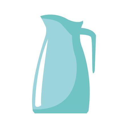 pitcher icon over white background, vector illustration Illustration