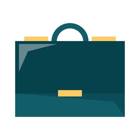 Business briefcase symbol isolated vector illustration graphic design