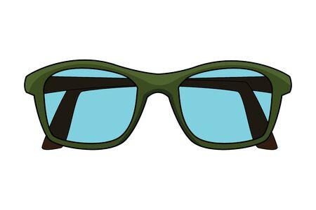 glasses design icon cartoon isolated vector illustration graphic design 일러스트