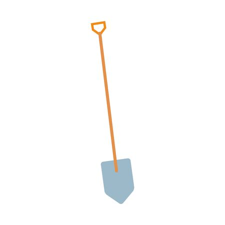 shovel design, Construction work repair reconstruction industry build and project theme Vector illustration