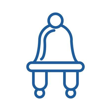 winter hat seasonal clothes icon vector illustration design