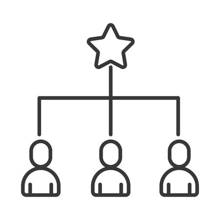 team work avatars silhouettes icons vector illustration design