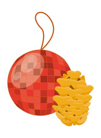 mirrors ball party hanging icon vector illustration design