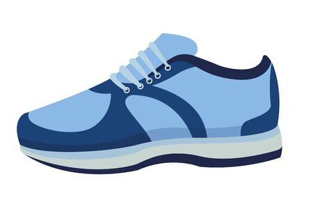 sneaker with shoelance icon cartoon isolated vector illustration graphic design Çizim