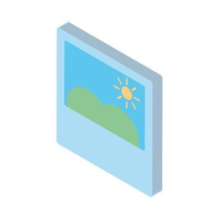 picture file image isolated icon vector illustration design